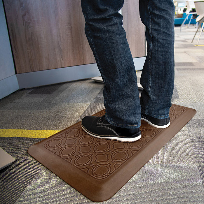 Smart Step Stand Smart Standing Desk Mat - Oak