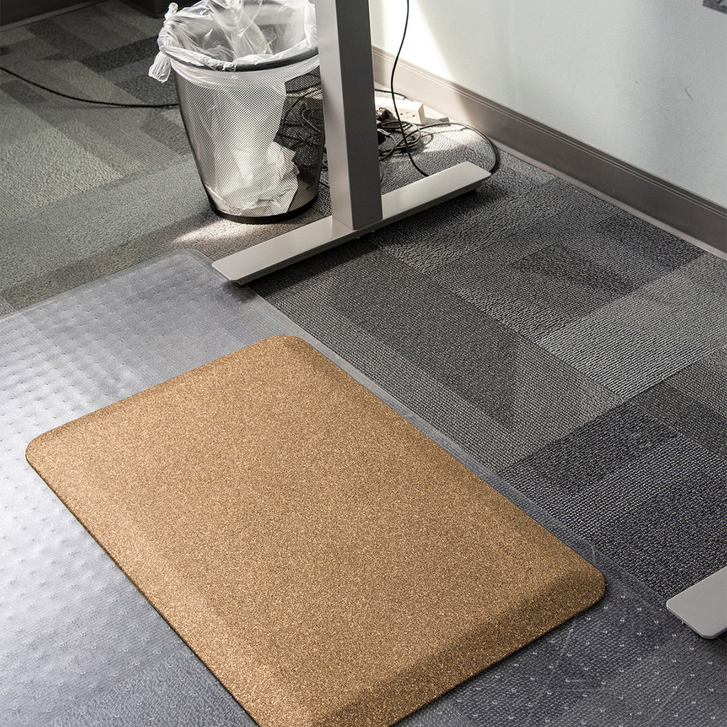 Smart Step Stand Smart Standing Desk Mat - Mosaic Gold