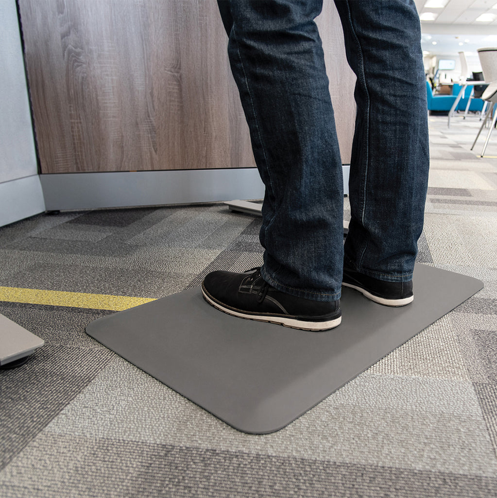 Smart Step Stand Smart Standing Desk Mat - Gray
