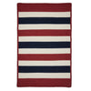 Portico PO29 Patriotic Stripe Braided Rug by Colonial Mills