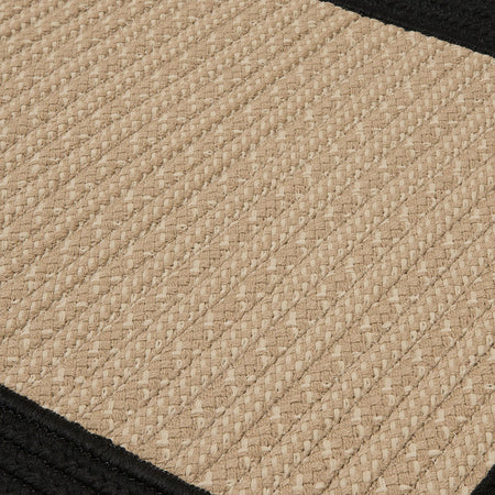 Bayswater BY13 Black Braided Rug by Colonial Mills - Select Area Rugs