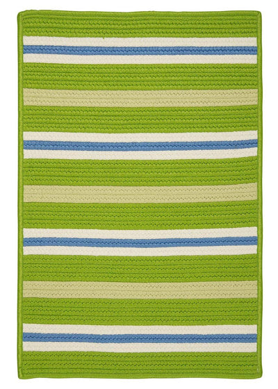 Painter Stripe PS61 Garden Bright Braided Rug by Colonial Mills