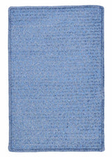 Simple Chenille M501 Petal Blue Kids Rug by Colonial Mills