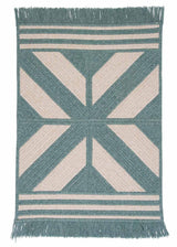 Sedona ED49 Teal Modern Wool Rug by Colonial Mills