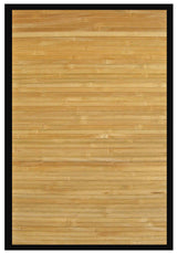 Light Bamboo Floor Mat |  Handmade | 6x9, 5x8, 4x6, 2x3