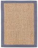 Sisal AMB0123 Gray and Tan Natural Fiber Rug