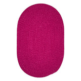 Spring Meadow S704 Magenta Braided Rug by Colonial Mills