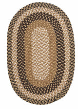 Pattern-Made FM49 Dark Multi Braided Rug by Colonial Mills