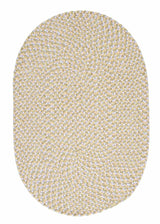 Confetti TI39 Daisy Yellow Braided Kids Rug by Colonial Mills