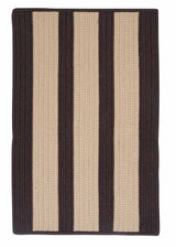 Boat House BT89 Brown Braided Indoor Outdoor Rug by Colonial Mills