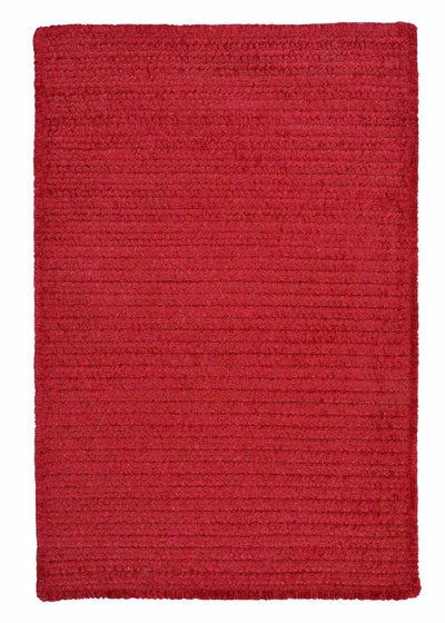 Simple Chenille M703 Sangria Kids Rug by Colonial Mills