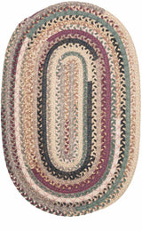 Olivera OV79 Cranberry Blend Braided Rug by Colonial Mills