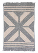 Sedona ED19 Gray Modern Wool Rug by Colonial Mills