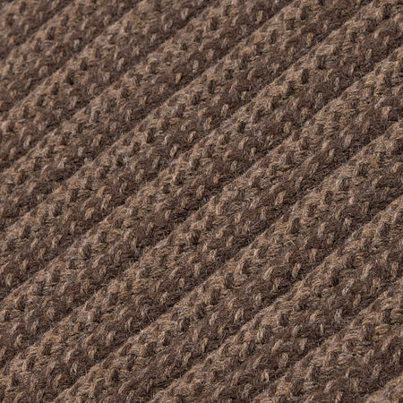 Blue Hill BI01 Brown Braided Wool Rug by Colonial Mills - Select Area Rugs