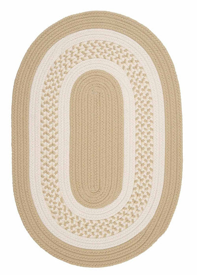 Crescent NT81 Linen Braided Rug by Colonial Mills