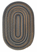 Oak Harbour OH58 Laguna Braided Wool Rug by Colonial Mills