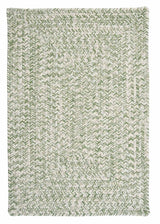Catalina CA69 Greenery Braided Indoor Outdoor Rug by Colonial Mills