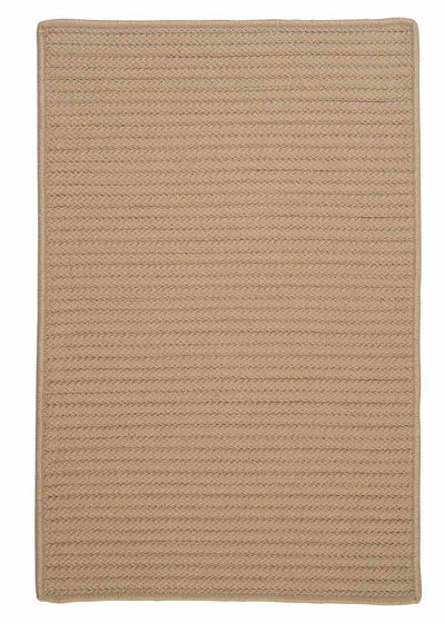 Simply Home Solid H330 Cuban Sand Indoor/Outdoor Ultra Durable Rug by Colonial Mills