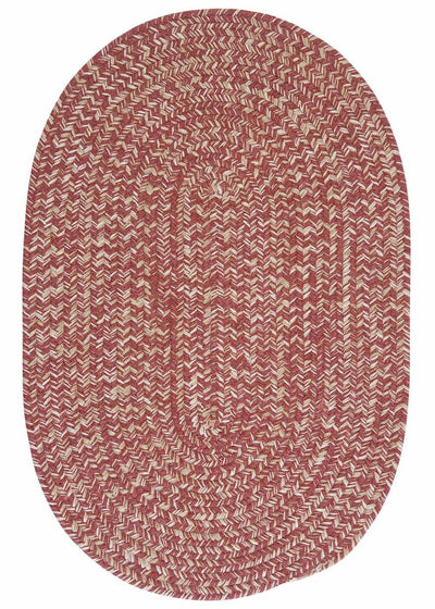 Tremont TE79 Rosewood Braided Wool Rug by Colonial Mills