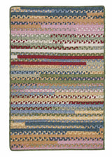 Market Mix Rect. MM04 Keepsake Braided Rug by Colonial Mills