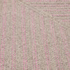 Moxie MX71 Pink Braided Wool Rug by Colonial Mills