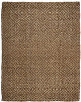 Jute AMB0325 Diamond Brown Natural Fiber Rug
