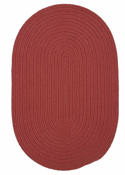 Boca Raton BR78 Terracotta Indoor/Outdoor Rug by Colonial Mills