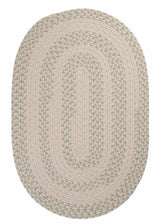 Elmwood EM69 Tarragon Braided Wool Rug by Colonial Mills