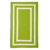 La Playa PY61 Lime Braided Rug by Colonial Mills