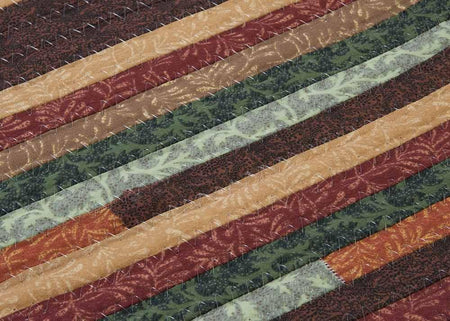 Braided Forest Cotton Rug Quilter's Choice QC02 by Colonial Mills by Colonial Mills - Select Area Rugs