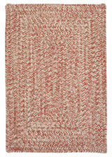 Corsica CC99 Weathered Brown Indoor/Outdoor Rug by Colonial Mills