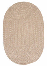 Tremont TE99 Oatmeal Braided Wool Rug by Colonial Mills