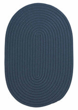 Boca Raton BR57 Lake Blue Indoor/Outdoor Rug by Colonial Mills