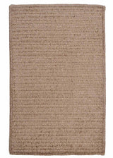 Simple Chenille M802 Cafe Tostado Kids Rug by Colonial Mills