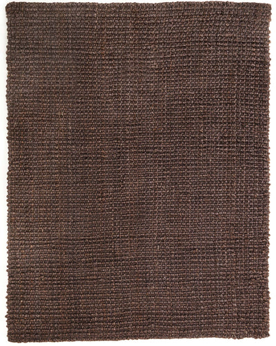 Jute AMB0334 Dark Brown Natural Fiber Rug