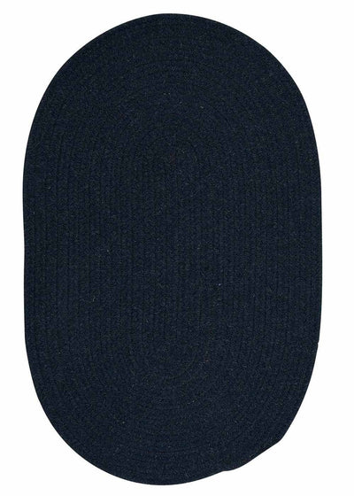 Bristol WL03 Blue Moon Braided Wool Rug by Colonial Mills