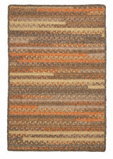 Print Party - Rects PY49 Rusted Vine Transitional Rug by Colonial Mills