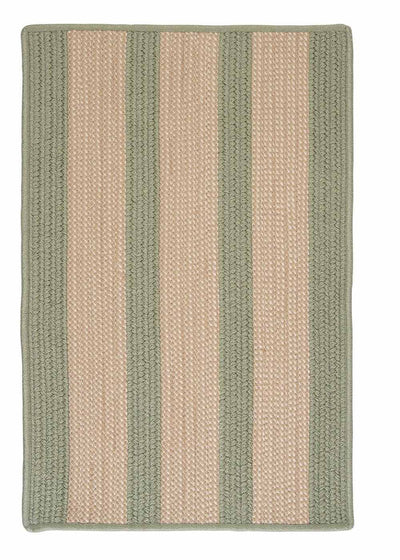 Boat House BT69 Olive Braided Indoor Outdoor Rug by Colonial Mills