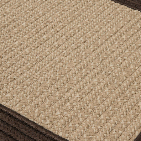 Bayswater BY03 Brown Braided Rug by Colonial Mills - Select Area Rugs