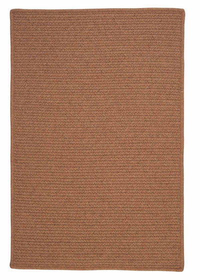 Westminster WM80 Taupe Braided Wool Rug by Colonial Mills