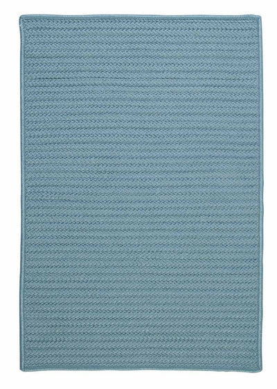 Simply Home Solid H101 Federal Blue Indoor/Outdoor Ultra Durable Rug by Colonial Mills