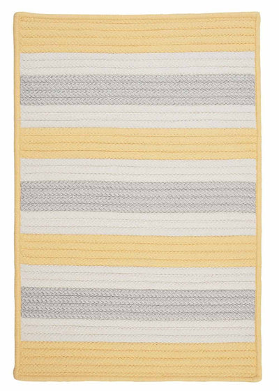 Stripe It TR39 Yellow Shimmer Indoor/Outdoor Rug by Colonial Mills