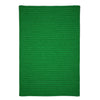 Simply Home Solid H910 Leaf Green Braided Ultra Durable Rug by Colonial Mills