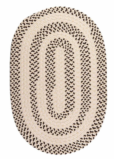 Elmwood EM99 Bark Braided Wool Rug by Colonial Mills