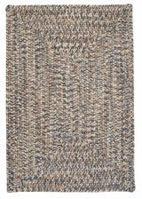 Corsica CC49 Lake Blue Indoor/Outdoor Rug by Colonial Mills
