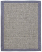 Sisal AMB0122 Gray Natural Fiber Rug