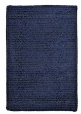 Simple Chenille M503 Navy Kids Rug by Colonial Mills