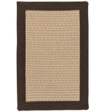 Bayswater BY03 Brown Braided Rug by Colonial Mills