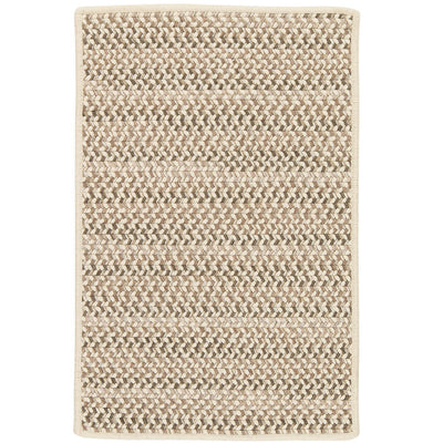 Chapman Wool PN31 Natural Braided Wool Rug by Colonial Mills