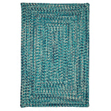 Catalina CA99 Blue Lagoon Braided Indoor Outdoor Rug by Colonial Mills